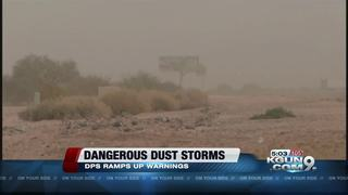 AZDPS ramps up dust storm warnings