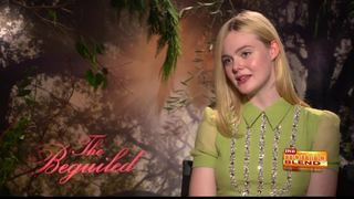 Elle Fanning talks her new movie, The Beguiled