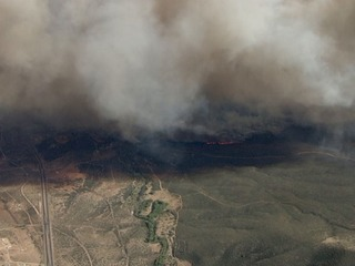 Goodwin Fire burns 20,644 acres