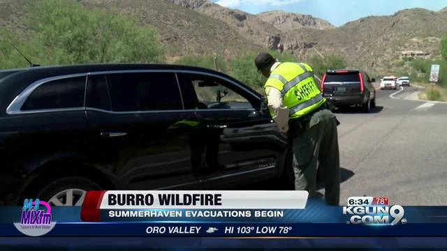 Burro Fire grows to over 14000 acres