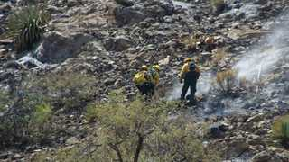 Firefighters gain upper hand in Siphon Fire