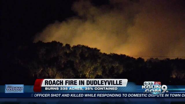 Roach Fire: Two hurt fighting fire in Dudleyville
