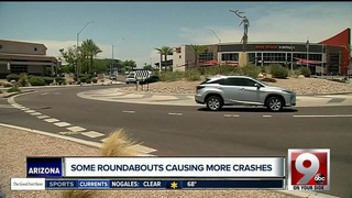 Study: Some roundabouts lead to more AZ crashes