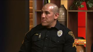 Tucson Police help kids go back to school safely