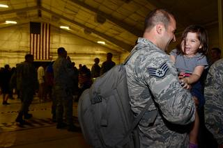 Airmen return to Davis-Monthan Air Force Base