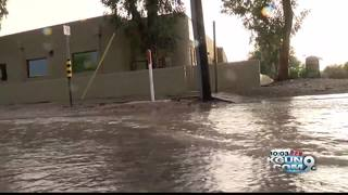 Saturday storms bring Tucson a wet evening