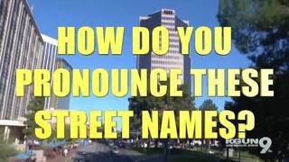 How do you pronounce certain names in Arizona?