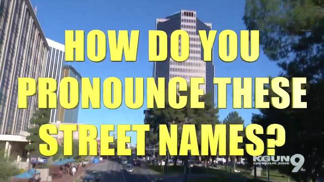 How do you pronounce certain names in Arizona?