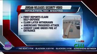 Jordan releases US troops shooting footage