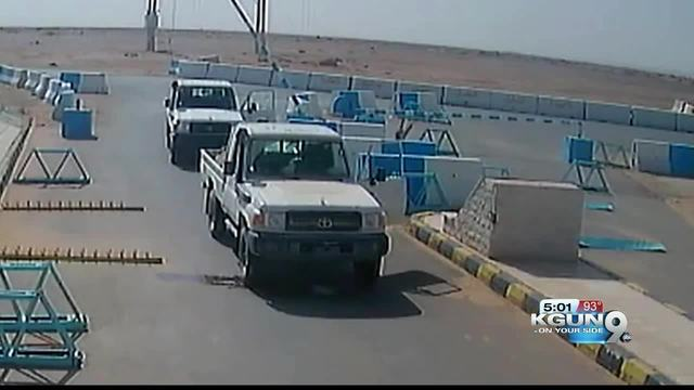 Jordan releases security footage of shooting of 3 US troops- one from Tucson