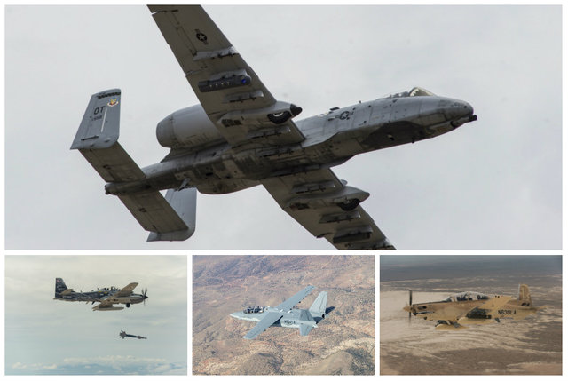 Air Force Performs Combat Mission, Familiarization Flights in Light Attack Aircraft Offerings