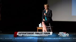 TUSD holds final superintendent candidate forum