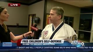 Studio offers free self-defense training to kids