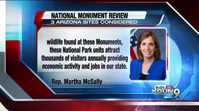Interior secretary won't recommend eliminating national monuments