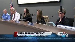 TUSD scheduled to vote on superintendent