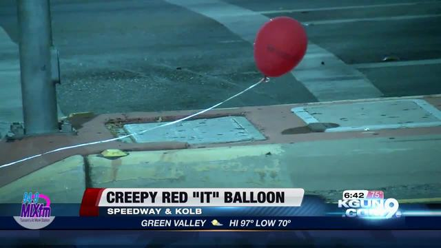 Teens clown around with balloon prank