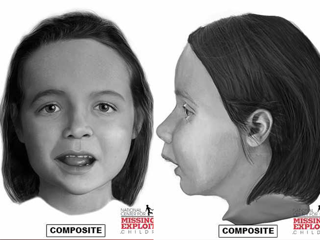 Sketch shows face of girl found dead in suitcase along Texas interstate