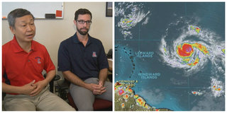 UA forecasters predicted strong hurricane season