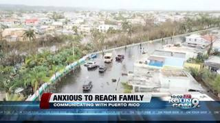 Trying to reach family after Hurricane Maria