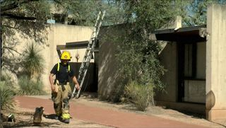 Air conditioner starts eastside house fire