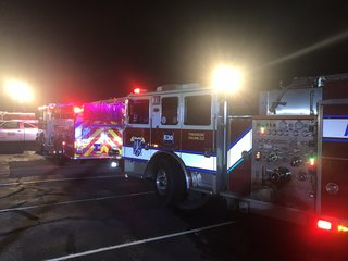 Training academy fire extinguished by crews
