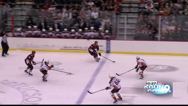 Ducks defeat Coyotes, 6-4, at the Tucson Arena