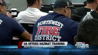 UA holds hazmat training sessions