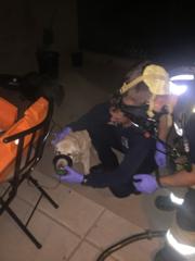 Family hospitalized after carbon monoxide scare