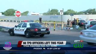 TPD retention down, officers fight for more pay