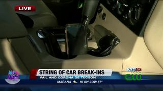 PCSD warns of spike in car burglaries