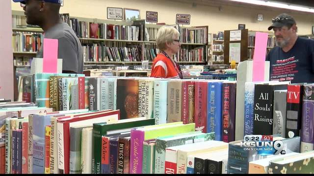 Friends of Library gives vital support