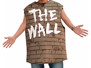 Party City selling costume called 'The Wall'