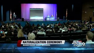 Naturalization ceremony welcomes 75 new citizens