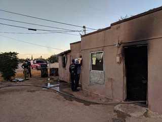 Early-morning house fire at condemned home