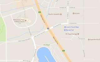 Freeway crash killed two