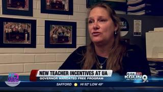 UA program offers incentives for teachers