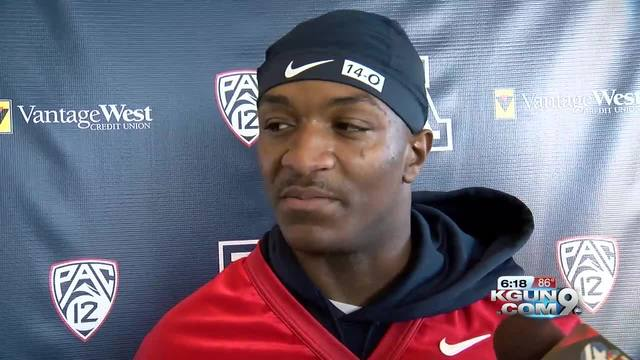Khalil Tate leads Arizona to rout of No. 15 Washington State