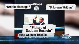 TUSD website one of hundreds hacked over weekend