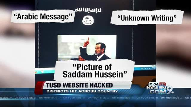 Hundreds of school websites hacked to show pro-Islamic State message