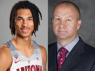 UA hoops suspends coach, player