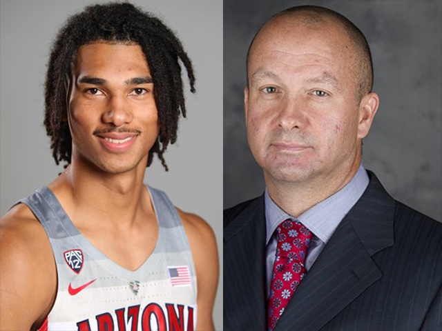 Arizona suspends assistant Mark Phelps, player Keanu Pinder for rules violations""