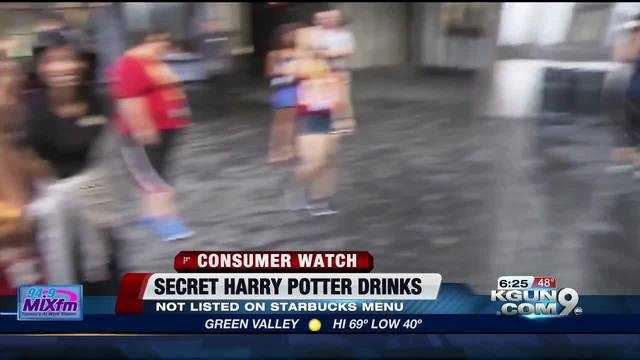 Get a taste of Harry Potter's world at Starbucks
