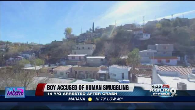 14-year-old Nogales boy accused of human smuggling attempt