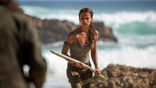 Review: Ferocious 'Tomb Raider' a crowd-pleaser