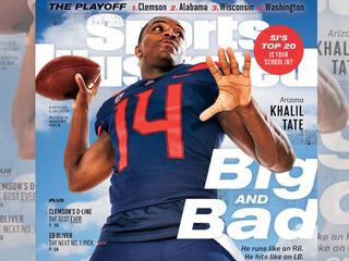 Khalil Tate makes regional SI cover