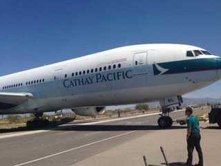 First Boeing 777 donated to Pima Air Museum
