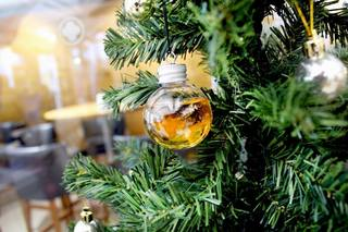 Distillery selling alcohol-filled ornaments