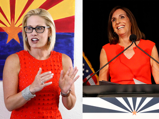 Could McSally and Sinema both become senators?