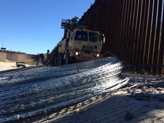 Soldiers' take on fortifying the border