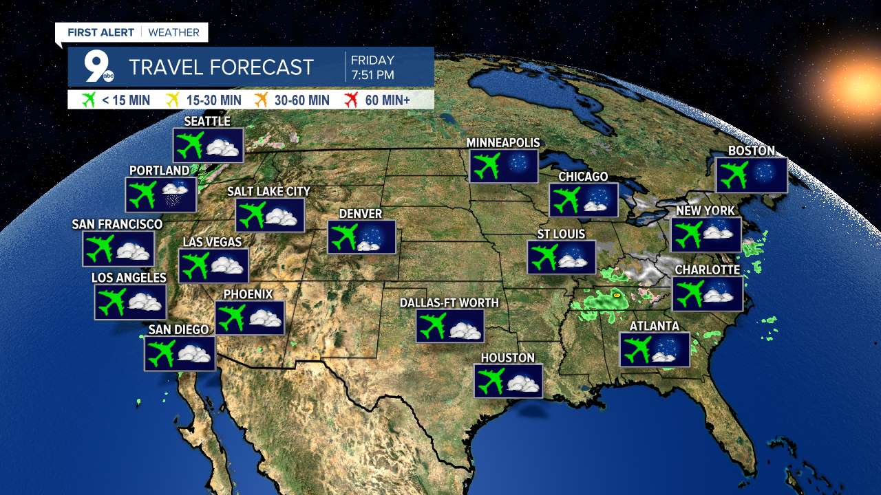 Travel Forecast Image